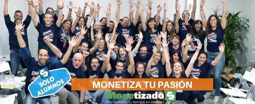 Alumnos del Curso Monetiza tu Pasión, de Javier Élices (monetizados.com) en una quedada física