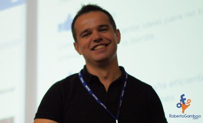 Master-class del curso monetiza tu pasión con Roberto Gamboa sobre Facebook Ads