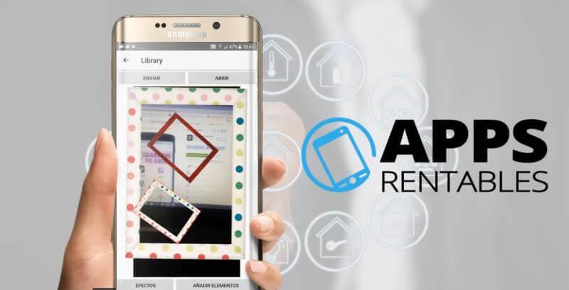 Review appsrentables.com para desarrollo de apps (logo y smartphone)