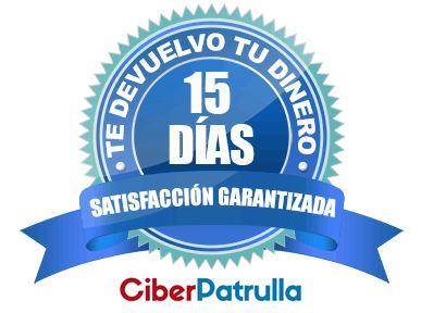 Garantía de satisfacción de Julián GL en su formación online de OSINT (período de prueba de 15 días con devolución del 100% del coste del curso OSINT de Ciberpatrulla)
