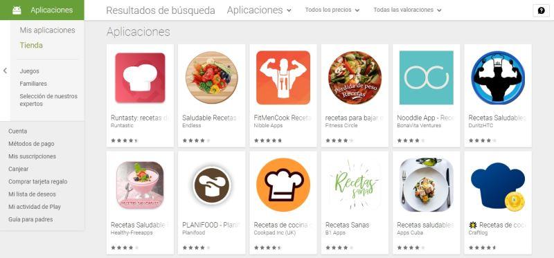 Desarrollo de aplicaciones móviles sin programar (iconos de aplicaciones en App Store)