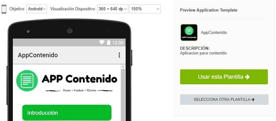 Diseño online de aplicaciones para smartphone dentro de la plataforma online de appsrentables.com