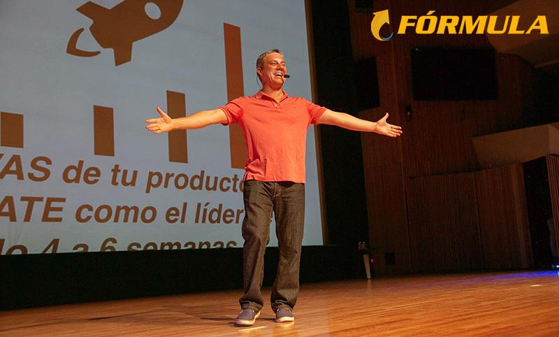 Luis Carlos Flores, responsable del curso Fórmula de Lanzamiento