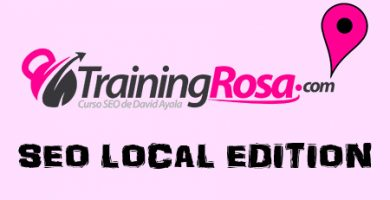 Opinion del curso online Training Rosa SEO Local de David Ayala