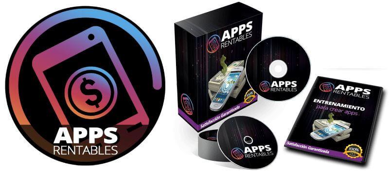 Opinión, review y análisis e Apps Rentables. Plataforma y curso online para hacer apps sin programar (logo appsrentables.com)